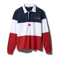 """INTERBREED """"LO SHIT SWITCING RUGBY SHIRT"""""""