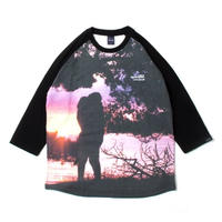 "Lover's Rock"" Raglan 3/4 L/S T-shirt"