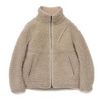 Wool Boa Fleece Field Jacket   THE NORTH FACE PURPLE LABEL NA2051N