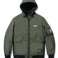 Back Channel-NYLON 3LAYER HOODED JACKET