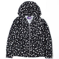 "THE NORTH FACE PURPLE LABEL ""DALMATIAN PRINT MOUNTAIN WIND PARKA"""
