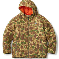 REVERSIBLE HOODED PUFFY JACKET