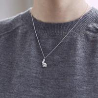 ラビットペンダント*silver+Rhodium
