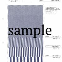 スイスコットン60/1タイプライターストライプ SAMPLE
