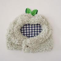 ブヒの実フーディーキャップ/ホワイトグリーン