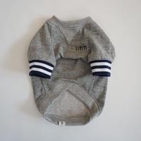 tititiのスウェットusude:ラグランTシャツ//ネイビー×ホワイト         【フレブル服TiTiTi】