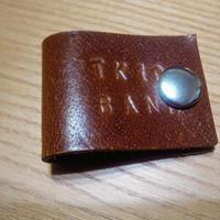 TK10BAND コードバンド ロゴ入り 茶