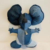 TK Denim Mouse(シルバーペンダント)