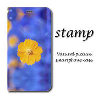 stamp【(L)手帳型スマホケース】iPhone/Android