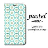 pastel #007【(S)(M)手帳型スマホケース】iPhone/Android