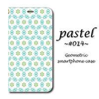 pastel #014【(S)(M)手帳型スマホケース】iPhone/Android