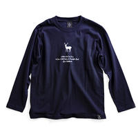 TNOC THE TEE LONG SLEEVE / EZOSIKA NAVY