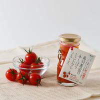 鳥羽農園の手しぼりミニトマトジュース 80ml 6本入り【ギフトボックス梱包】