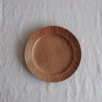 渡邊  浩幸さんの  パン皿 クルミ 17cm