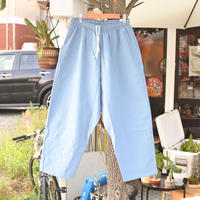SUNDAY PANTS -BLUE GRAY-