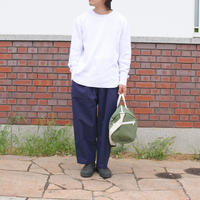 SUNDAY PANTS -NAVY-