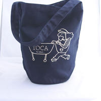 TOCA round  tote bag