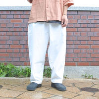 SUNDAY PANTS -WHITE-