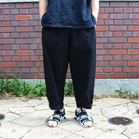 SUNDAY PANTS -BLACK-