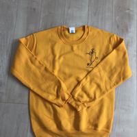 "tochka ""pigmy sea horce""crew neck""gold"