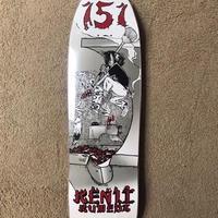 """151skate board """"kenji kumeda"""" 9.5インチ"""