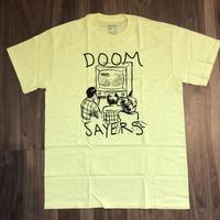 """DOOM SAYERS """"Kill telev black"""" lemon Size M"""