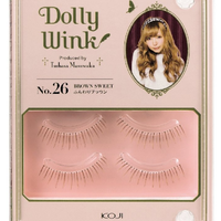 "Dolly Wink EyeLashes No.26 ""Brown Sweet"""