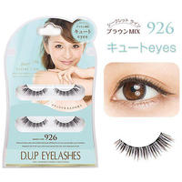 "D-UP EyeLashes Secret Line Brown Mix 926 ""Cute Eyes"""