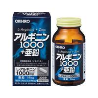 ORIHIRO  L-Arginine + Zinc 120capsules / 30days
