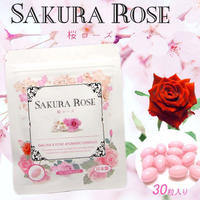 NAMA SAKURA and ROSE Aromatic Essence 30capsules