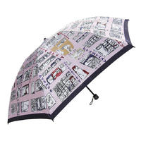 "Manhattaner's Folding Umbrella "" The Manhattan Triumph of Cats"""