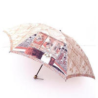 "Manhattaner's Folding Umbrella ""Tearful Michelangela"" <2 colors>"