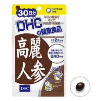 DHC Korean ginseng extract 60capsules 30days