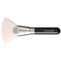 HAKUHODO F1521 Ougi Duo Flat (4mm) Foundation Brush Synthetic fiber