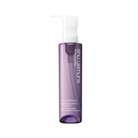 shu uemura blanc:chroma lightening & polishing cleansing oil 150ml for dull skin concerns