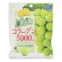 meiji Muscat Juice Gummi Collagen 5000 mg