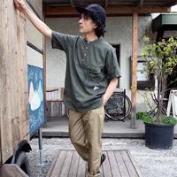 and wander/dry linen short sleeve shirt