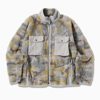 and wander /jacquard boa jacket