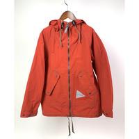 and wander/laser hole nylon taffeta hoodie