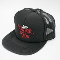 Sorry...Thank you-MESH CAP/BLACK