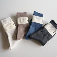 リブソックス/NORMA cotton silk