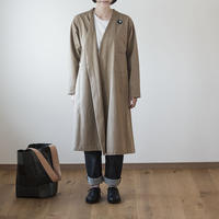 WORK DRESS COAT/ blanc