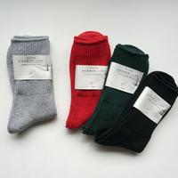 NORMA 25-27 定規座の靴下/cotton