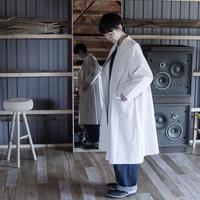 STAND WORK DRESS/ blanc