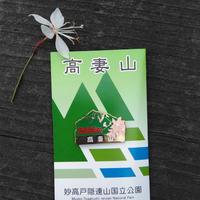 山バッチ(高妻山)