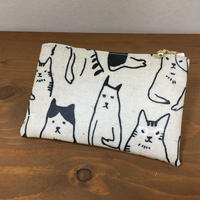 猫ポーチ【NOWA】