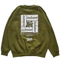 Basic toibase 21 スウェットトレーナー(寄付対象商品)