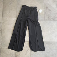 ritsuko karita  carvung long pants(black)