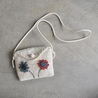mepi  mon sac fleuri pochette red×blue