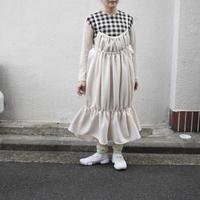 o new  flower skirt アイボリー